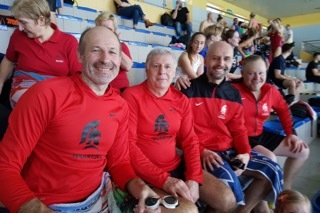 ASW Teachers Take Gold in Swim Meet