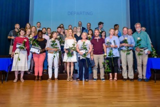 Farewell to Departing Faculty and Staff