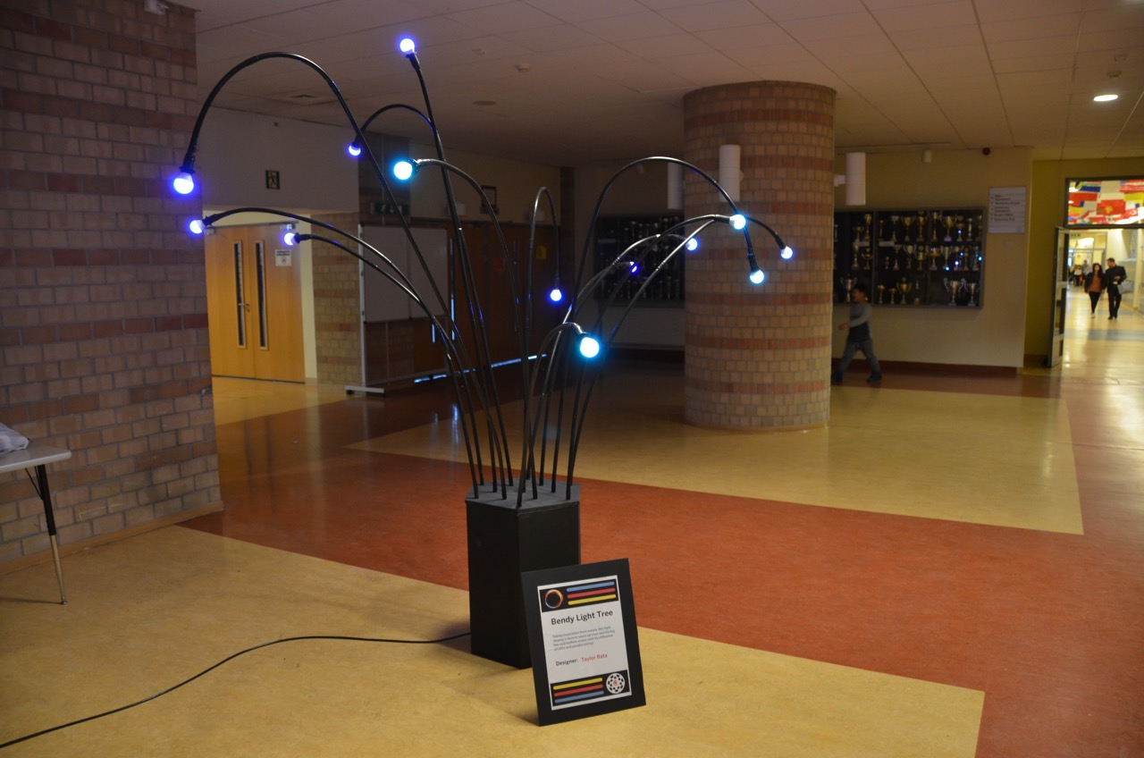 Light tree designed by ASW students