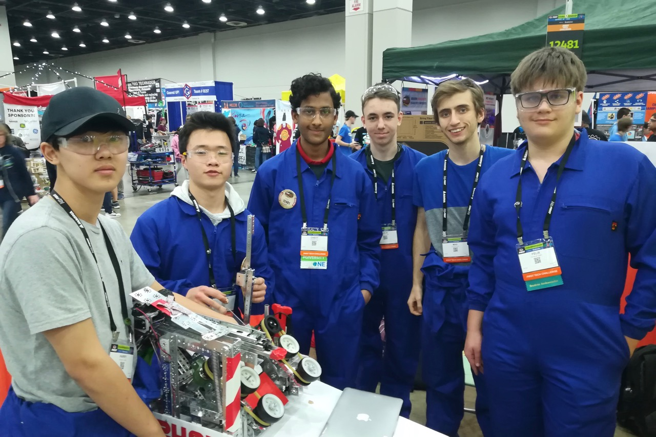 ASW Robotics team in Detroit
