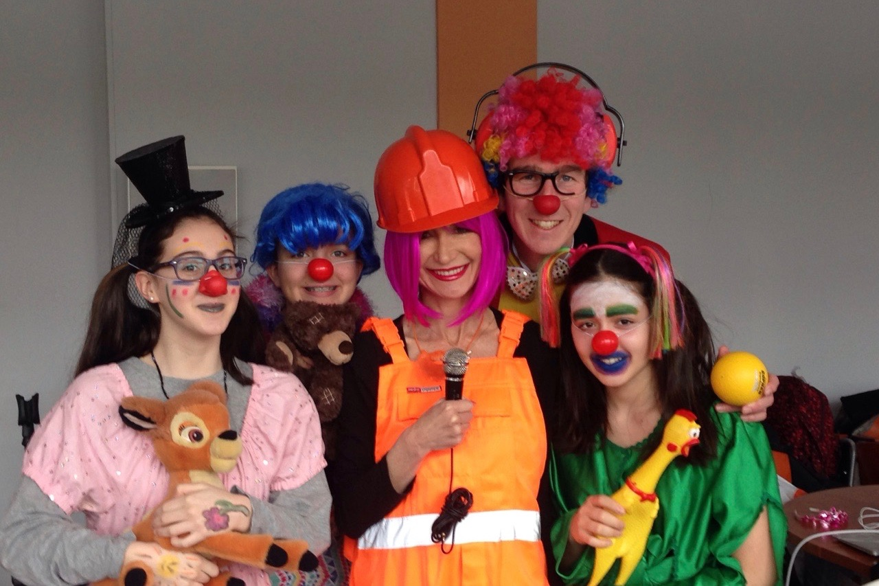 ASW Clowns at the Institute of Psychology in Warsaw