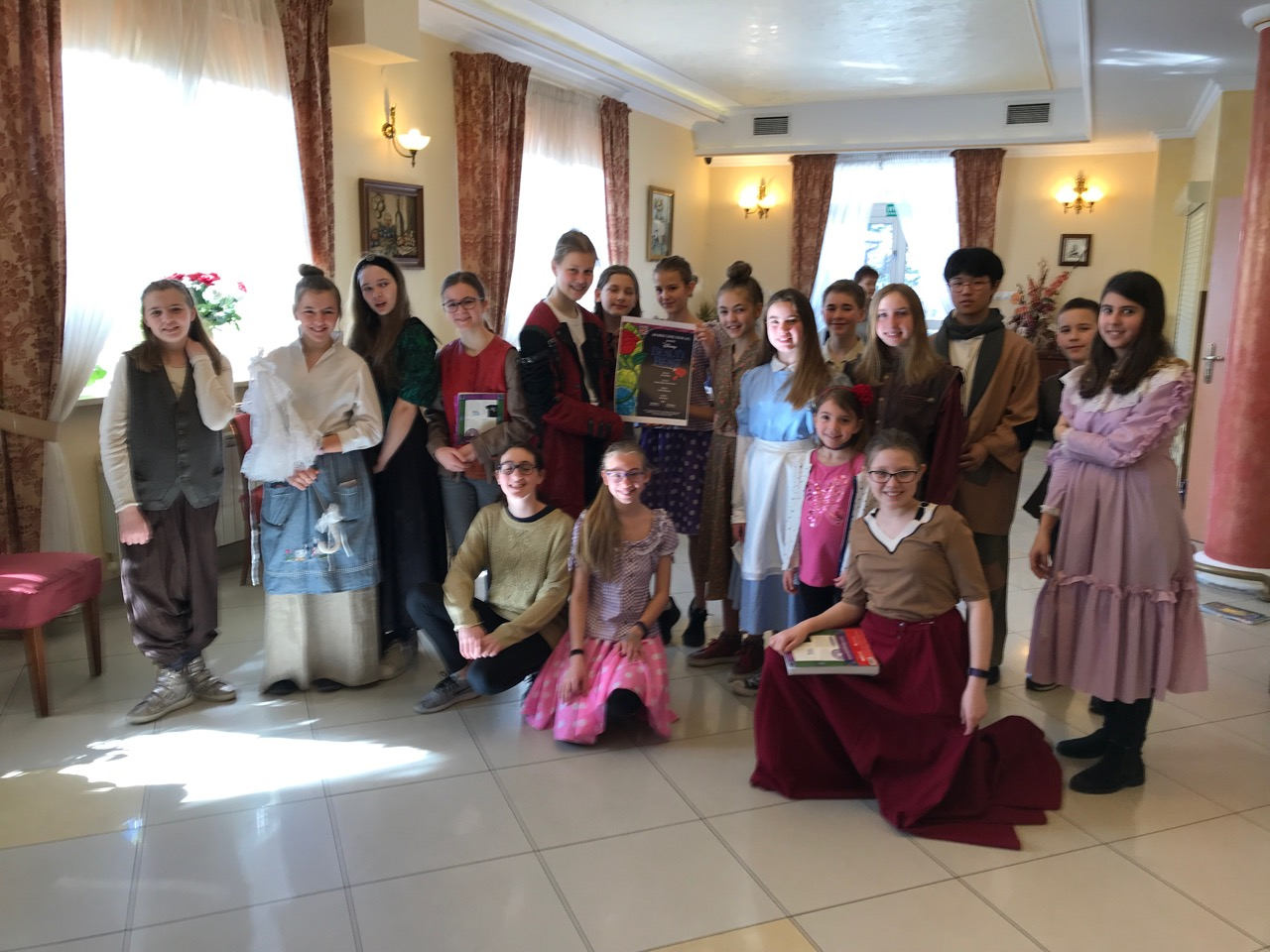 Beauty and the Beast Performed at Retirement Home